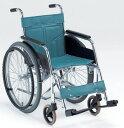 車椅子 車いす 車イス 送料無料 スチール製自走式車椅子DM-91 【松永製作所】【smtb-KD】