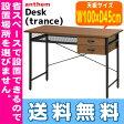 【エントリーでP10倍(12/8 01:59まで)】 【送料無料】【代引利用不可】 anthem Desk(trance) デスク トランス 市場株式会社 ANT-2840BR