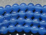 ブルーアゲートAA ラウンド8mm 1連売り