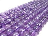 紫晶圆8mm 1们卖[アメジスト ラウンド8mm 1連売り]
