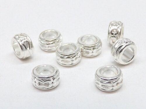 メタルロンデル 白銀 20個入り ph-0788
