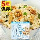 アルファ化米 安心米 海鮮おこわ 5年保存 1袋 個食 100g アルファー食品 非常食 保存食 備蓄保存食 防災 ごはん ご飯 お米 備蓄用 災害