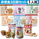 1人用/非常食 3日分(9食)セット【防災セット 防災用品 保存食】