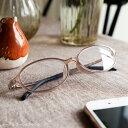 老眼鏡 オーバル 5色 35歳からのスマホ老眼鏡 ブルーライトカット 35% レディース メ
