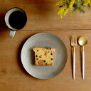 正規品 デザート フォーク・スプーンセット ホワイト ゴールド クチポール ゴア GOA デザートフォーク デザートスプーン 各1本 ホワイト/ゴールド カトラリーセット