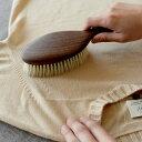 日本製 洋服ブラシ 馬毛 ショージワークス ウォールナット洋服ブラシ ウール・混紡用 CB-1 花粉 帽子 ハット スーツ 制服 ブラシ