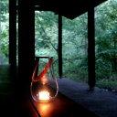 ホルムガード ランタン Design with light M クリア キャンドルホルダー ガラス 24.5cm 北欧 デンマーク Holmegaard Lantern