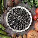 マリメッコ 食器 食器 皿 marimekko シイルトラプータルハ SIIRTOLAPUUTARHA プレート 20cm 063303 199 ホワイト/ブラック 北欧 フィンランド