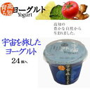 It is fs2gm 90 g of *24 yogurt set [road postage 800 yen, collect on delivery impossibility] which took a trip to the space raised in Kochi [RCP]
