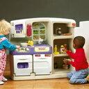 アメリカ生まれの大型遊具!お子様の健やかな成長を後押し!!【送料無料・代引き不可】遊ぶことはお子様の成長に欠かせない☆【ちびっこシステムキッチン】
