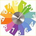 文字盤1枚1枚がカードになった掛時計!オシャレな部屋は時計選びから! Cardに時を刻む掛時計【Card Wall Clock】