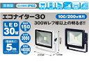 日動工業 LEDエコナイター30  LEN-30D-ES-DB 本体色 濃紺 【昼白色】