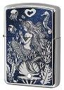 Zippo ジッポー Mermaid スワロフスキー zippo ジッポライター オプション購入で名入れ可