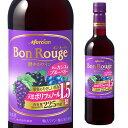 ボンルージュプラスカシス720mlペットボトル長S国産ワイン日本メルシャンキリンBonRougeボン・ルージュ