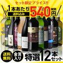 金賞入り特選ワイン12本セット 202弾【送料無料】[ワインセット][長S]