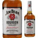 ジムビーム 1L <並行>40度 1,000ml[ウイスキー][バーボン][ジンビーム][ジム・ビーム][ホワイト][並行品]