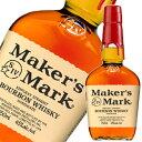 メーカーズマーク 45度 750ml 【正規品】 [ウイスキー][バーボン][ MAKER'S MARK][ケンタッキー][レッドトップ]
