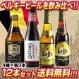 ベルギービール12本セット4種×各3本12本セット【第6弾】【送料無料】[瓶][ギフト][詰め合わせ][飲み比べ]