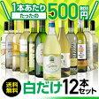 白だけ特選ワイン12本セット41弾【送料無料】[ワインセット]
