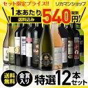 金賞入り特選ワイン12本セット187弾【送料無料】[ワインセ...