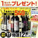 金賞入り特選ワイン12本セット199弾【送料無料】[ワインセット][長S]