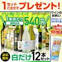 白だけ特選ワイン12本セット72弾【送料無料】[ワイン