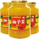 柚子茶 ハチミツ入り 1000g×3個 《韓国産》【3個セット】[韓国茶]
