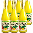 シークヮーサー果汁100% 原液500ml×6本【6本セット】【送料無料】[シークァーサー]
