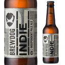 ブリュードッグ インディー ペールエール 330ml瓶スコットランド イギリス 輸入ビール 海外ビール クラフトビール 海外 ブリュードック