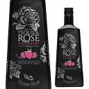 (全品P2倍 2/25限定)テキーラローズ ストロベリークリーム 15度 750m[リキュール][tequila][rose][長S]
