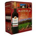 《箱ワイン》マクル・レッド 3LMAKULU CAPE RED[南アフリカ][サウスアフリカ][ボックスワイン][BOX][赤ワイン][辛口] 長S