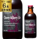 (全品P3倍 5/10限定)北海道麦酒醸造 クラフトビール チェリー&ベリー エール 300ml 瓶 6本セット 1本あたり485円(税別) 送料無料 フルーツビール 地ビール 国産 北海道 長S 母の日 父の日
