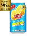 アサヒ ウィルキンソン ドライセブン ドライレモン 送料無料350ml缶×4ケース(96缶) Asahi[ウイルキンソン][ウヰルキンソン]チューハ..