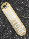 ZOO YORK 8.0 X 31.6 PHOTO INCENTIVE METALIC GOLD Skateboard Deck ズーヨーク スケートボード デッキ