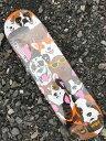 【ENJOI】 7.875 x 31.4 DOG COLLAGE Skateboard Deck エンジョイ デッキ スケートボード デッキmellow concave steep kick