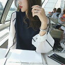 レディース 3color バルーンスリーブ スカラップ刺繍 ニット ワンピース 袖コンシャス 大人のこなれ感