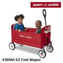 【送料無料】RADIO FLYER ラジオフライヤー フォールドワゴン 3956A カート ワゴン 収納 かご 台車 子供用 レジャー キャンプ おもちゃ入れ 片付け 収納 運搬 安全 安心 買い物 四輪車 アメリカ 雑貨 3956A EZ Fold Wagon