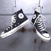 【 CONVERSE / コンバース 】 CHUCK TAYLOR - CANVAS ALL STAR J DENIM HI [BLACK] / チャックテイラー - キャンバス オールスター J デニム HI [ブラック] MADE IN JAPAN / 日本製 岡山デニム バルカナイズド製法