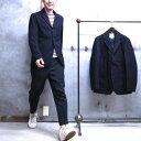 【 FIDELITY / フィデリティ 】 MELTON TAILORED JACKET / メルトン テーラードジャケット ブレザー 紺ブレ ウールジャケット DESIGNED IN U.S.A. ◆ MADE IN JAPAN
