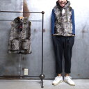 【 FARFIELD / ファーフィールド 】 FUR TOT'S VEST / フェイク ファー ベスト イギリス製 ◆ 日本正規代理店商品 FARFIELD ORIGINAL