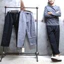 【 GRAMICCI / グラミチ 】# GUP-16F009 NEL LOOSE TAPERED PANTS / ネル ルーズ テーパード パンツ ワイドパン...