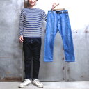 【 GRAMICCI × LEE / グラミチ × リー 】 # GMP-17S110 KNIT DENIM PAINTER CROPPED PANTS / ニ...