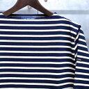 【 SAINT JAMES / セントジェームス 】 OUESSANT BORDER / ウエッソン ボーダー / ボーダーバスクシャツ / ボーダーTシャツ ...
