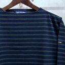 【 SAINT JAMES / セントジェームス 】 OUESSANT BORDER / ウエッソン ボーダー /ボーダーバスクシャツ / 長袖ボーダーTシャツ...