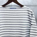 【 SAINT JAMES / セントジェームス 】 OUESSANT BORDER / ウエッソン ボーダー ボーダーバスクシャツ 長袖ボーダーTシャツ ◆G...