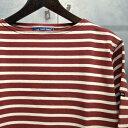 【 SAINT JAMES / セントジェームス 】 OUESSANT BORDER / ウエッソン ボーダー ボーダーバスクシャツ 長袖ボーダーTシャツ ◆A...