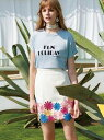 【SALE/48%OFF】Lily Brown フラワー刺繍台形スカート リリーブラウン スカート【RBA_S】【RBA_E】【送料無料】