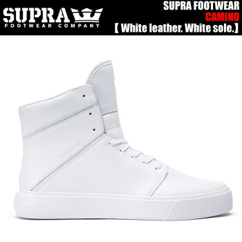 SUPRACAMINOS53504/WHTWhitefull-grainleather.Whitesole.�ڥ����ץ饹�ˡ�������