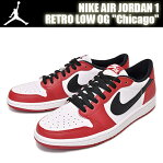 "【ナイキ スニーカー ジョーダン1 OG】NIKE AIR JORDAN 1 RETRO LOW OG ""Chicago"" v.red/blk-wht"