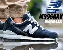 NEW BALANCE M996NAV MADE IN U.S.A. NB M996 ニューバランス スニーカー ネイビー スウェード 996 ワイズ D